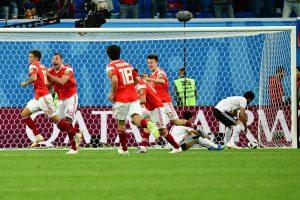 Pasaulio futbolo čempionatas: Rusija nugalėjo Egiptą