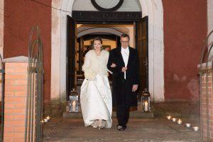 Estijos prezidentas paskelbė apie žmonos Ievos nėštumą