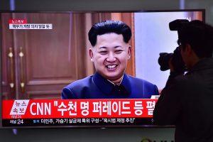 """Šiaurės Korėjos vadovas partijos suvažiavime pagyrė """"istorinį"""" branduolinį bandymą"""