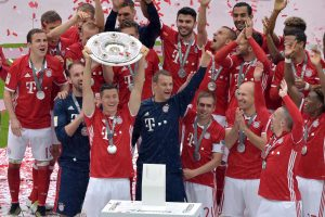 Baigėsi Vokietijos futbolo čempionatas