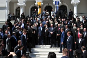V. Putinas Graikijoje lankosi Atono kalno vienuolyne