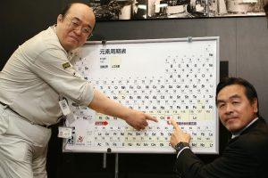 Periodinę lentelę papildė keturi nauji cheminiai elementai