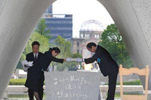 Nagasakio sprogimo 71- ųjų metinių minėjime – liaupsės B. Obamai
