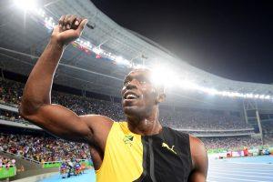 Bėgikui U. Boltui lygių nėra – trečias olimpinis auksas iš eilės