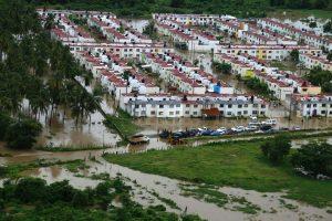 Meksikos kurortą nuniokojo potvyniai ir nuošliaužos