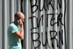 Vakarai apie išpuolį prieš Ukrainos televiziją: atidžiai stebime pasekmes