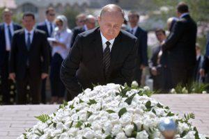 V. Putinas demonstruoja išskirtinį palaikymą Uzbekistanui