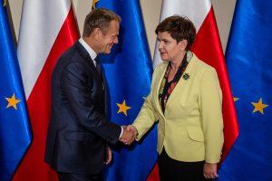 Lenkijos premjerė reikalauja didelių ES reformų
