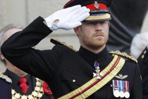 Prancūzijos prezidentas ir britų princas Harry paminėjo Paliaubų dieną