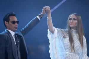 Laimingai išsiskyrę: J. Lopez uždainavo su buvusiu vyru M. Anthony