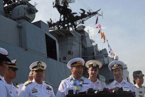 Rusijos laivai atvyko į Filipinus pademonstruoti karinę techniką