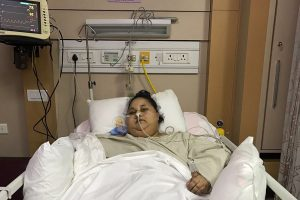 Sunkiausiai pasaulio moteriai atlikta skrandžio mažinimo operacija