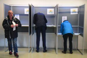 Nyderlanduose prasidėjo parlamento rinkimai