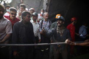 Sprogimo Irano anglių kasykloje aukų padaugėjo iki 35
