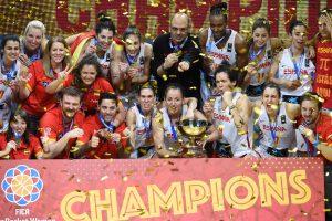 Ispanijos krepšininkės susigrąžino Europos čempionių titulą