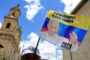 Popiežiaus vizitas Kolumbijoje: faktai ir skaičiai