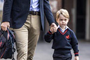 Kembridžo kunigaikštienė dėl prastos savijautos praleido pirmą princo dieną mokykloje