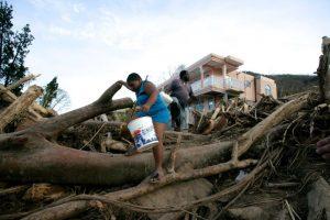 Lietuva skyrė paramą nuo uragano nukentėjusiai Dominikai