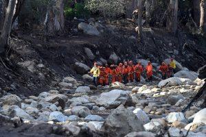 Po purvo nuošliaužų Kalifornijoje – vis daugiau žuvusiųjų