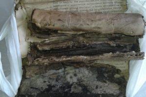 Marijampolėje vėl rastas dokumentų lobis