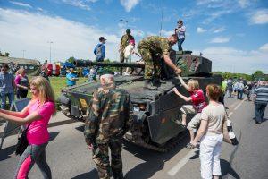 Panevėžiečius šeštadienį subūrė kariuomenė
