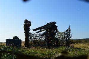 """Šiauliuose – oro gynybos pratybos su sistema """"Patriot"""""""