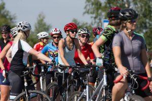 Lietuvės prisijungė prie tarptautinės moterų važiavimo dviračiais iniciatyvos