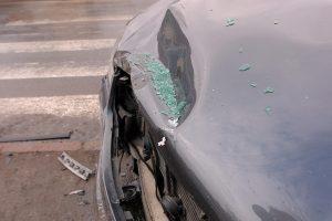 Avariją sukėlė prie vairo užsnūdęs vairuotojas