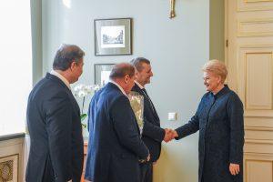 Prezidentė: Rusija yra atsakinga už blogėjančią Krymo totorių padėtį