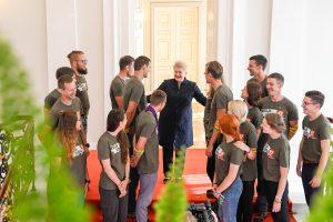 Prezidentė: pilietiškas jaunimas įkvepia visą Lietuvą