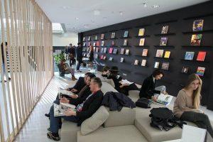 """KTU """"Santakos"""" slėnyje įsikūrusiai bibliotekai – itališki kokybės standartai"""