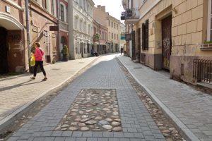 A. Savičiaus gatvė savaitgaliais sugrįžta pėstiesiems