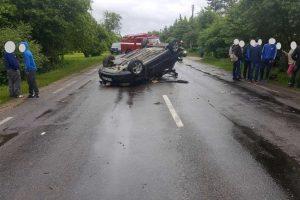 Paaiškėjo, kad iš eismo įvykio vietos paspruko policijos pareigūnas