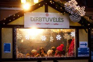 Kalėdinis miestelis padės susikurti stebuklus