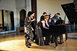 Muzikos maratonas Lietuvos pianistų židinyje