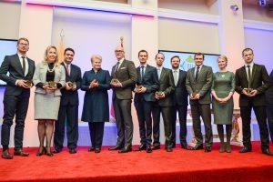 Prezidentūroje apdovanoti šalį garsinantys lietuviai, tarp jų – A. Sabonis