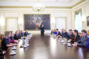 Prezidentė: būtina išnaudoti geopolitinę dinamiką Lietuvos interesams