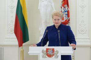 Prezidentė paskyrė ambasadorius Azerbaidžane ir Austrijoje