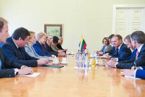 D. Grybauskaitė: ES tikslai – užtikrinti saugumą ir skatinti ekonomiką