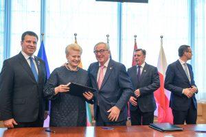 Briuselyje pasirašytas susitarimas dėl elektros tinklų sinchronizavimo