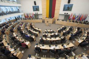 Penktadienį – nenumatytas Seimo posėdis
