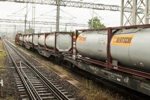 Į Lietuvą atriedėjo pirmasis šiais metais traukinys iš Kinijos