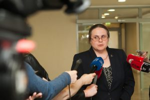 A. Širinskienei atrodo, kad LRT privalėtų kištis sudarant Seimo darbotvarkę