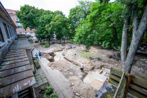 Po svarbaus atradimo Vilnius žada įamžinti Didžiąją sinagogą
