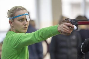 A. Tamašauskaitė ir I. Serapinaitė – šiuolaikinės penkiakovės čempionato finale
