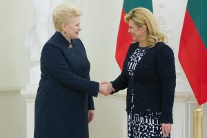 Kroatija atsiųs karių į tarptautinį batalioną Lietuvoje