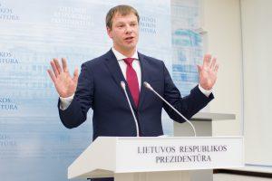 V. Šapoka: dėl mokesčių ir pensijų reformos reikės ieškoti sutarimo