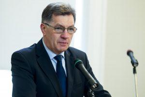 Premjeras: Ukrainos krizės akivaizdoje pasikliaujama JAV lyderyste