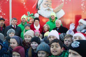 Startavo tradicinis Kalėdų karavanas