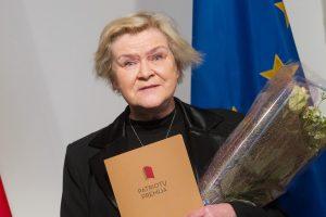 Patriotų premijos laimėtoja K. Gudonytė: tai audra vandens stiklinėje